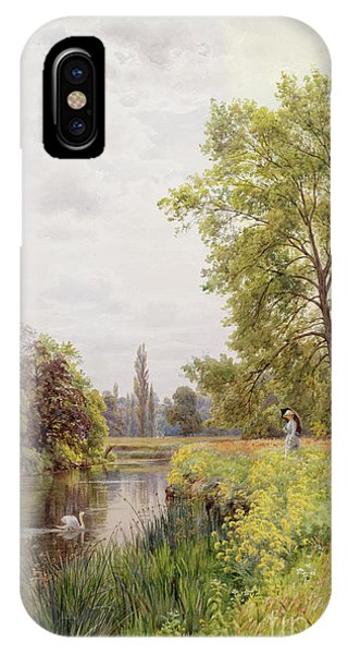 The Thames At Purley IPhone Case