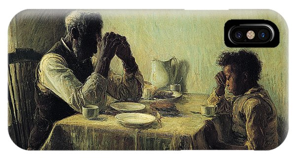 IPhone Case featuring the painting The Thankful Poor by Henry Ossawa Tanner
