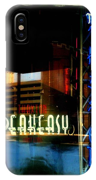 The Thaxton Speakeasy IPhone Case