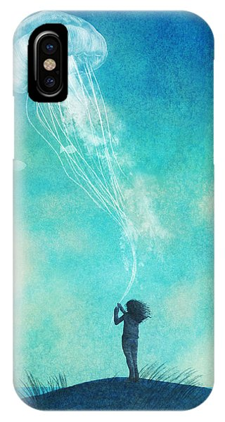 iPhone Case - The Thing About Jellyfish by Eric Fan
