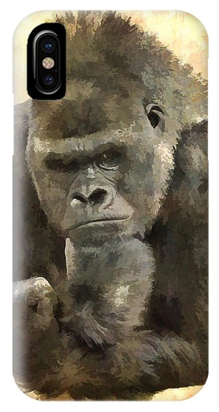 The Thinker IPhone Case