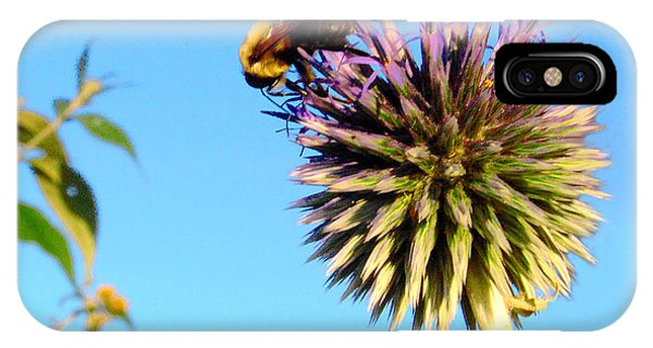 The Thistle And The Bee. IPhone Case