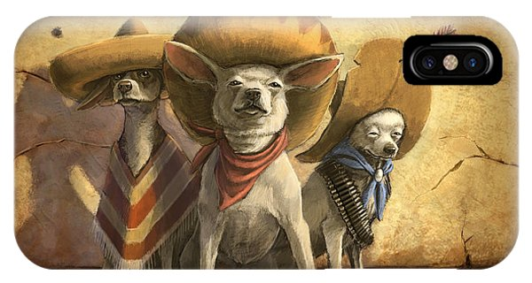 New Mexico iPhone Case - The Three Banditos by Sean ODaniels