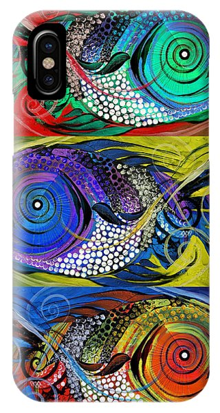 The Three Fishes IPhone Case