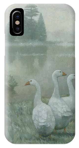 The Three Geese IPhone Case