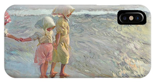 The Three Sisters On The Beach IPhone Case