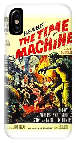 The Time Machine B IPhone Case