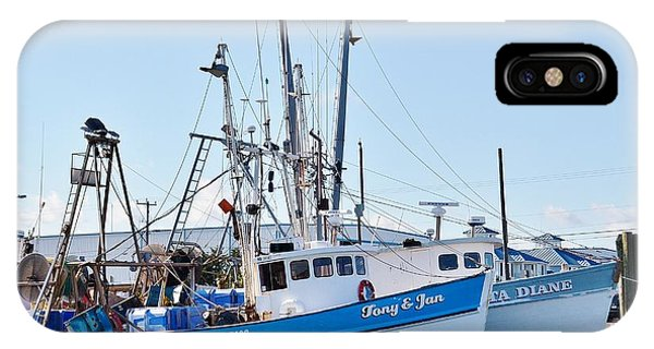 The Tony And Jan - West Ocean City Harbor IPhone Case