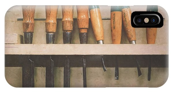 Craftsman iPhone Case - The Tools Of The Trade by Scott Norris