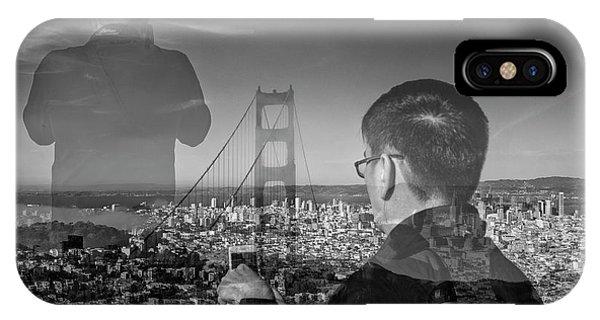 The Tourists - Golden Gate Bridge IPhone Case