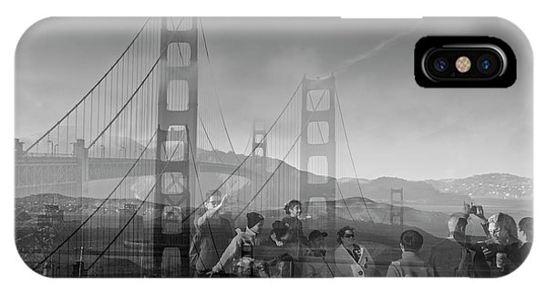 The Tourists - Golden Gate IPhone Case