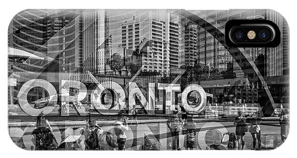 The Tourists - Toronto IPhone Case