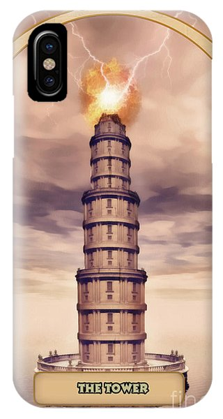 Destiny iPhone Case - The Tower by John Edwards