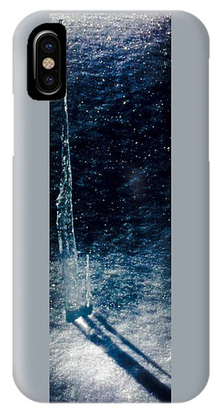 The Tower Of Ice Shadows IPhone Case