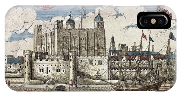 The Tower Of London Seen From The River Thames IPhone Case