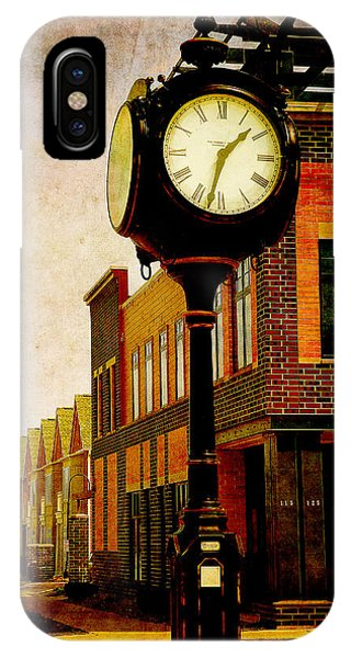 the Town Clock IPhone Case