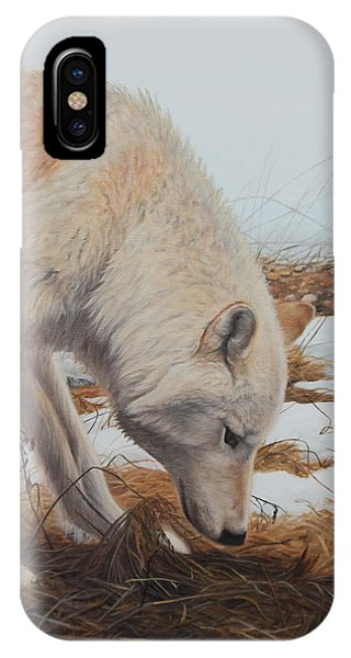 IPhone Case featuring the painting The Tracker by Tammy Taylor