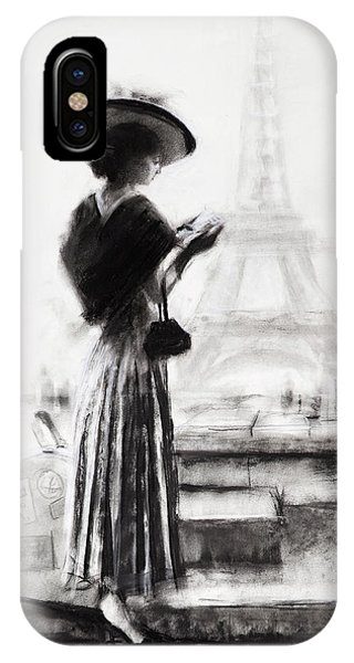Eiffel Tower iPhone Case - The Traveler by Steve Henderson