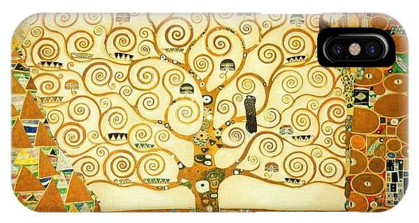 Art And Craft iPhone Case - The Tree Of Life by Gustav Klimt