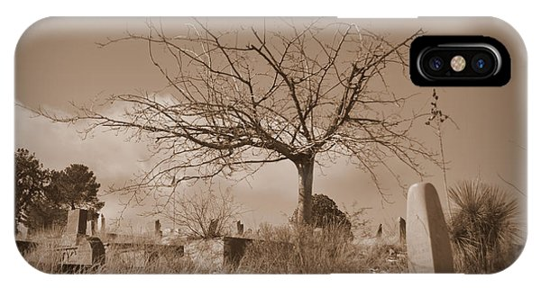 The Tree On Boot Hill  IPhone Case