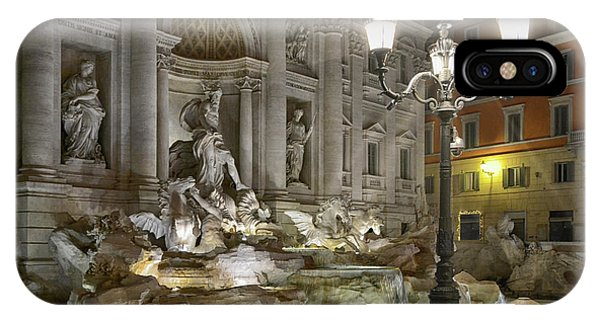 Ancient Rome iPhone Case - The Trevi Fountain by Joachim G Pinkawa