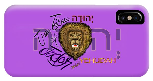 The Tribe Of Judah Hebrew IPhone Case