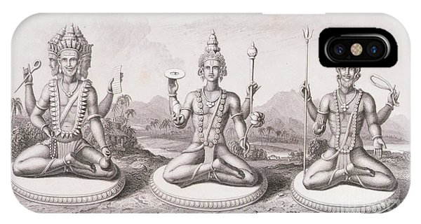 The Trimurti Or Hindu Trinity IPhone Case