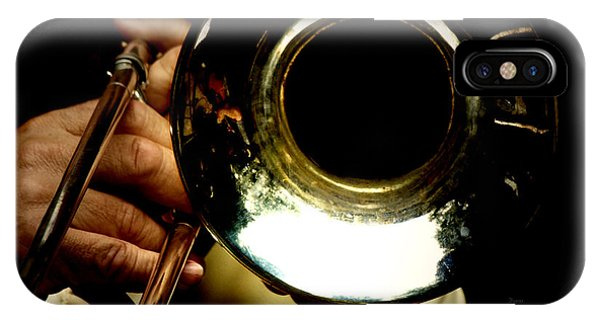 Trombone iPhone X Case - The Trombone   by Steven Digman
