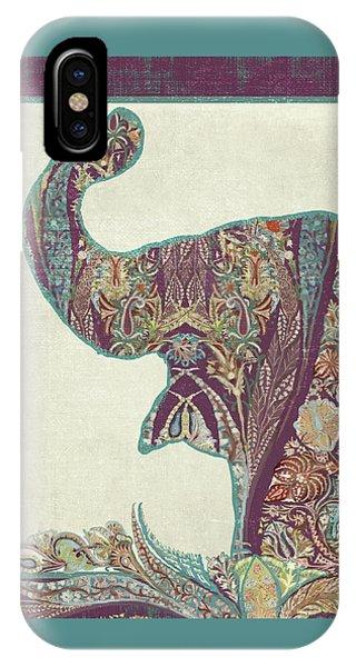 The Trumpet - Elephant Kashmir Patterned Boho Tribal IPhone Case