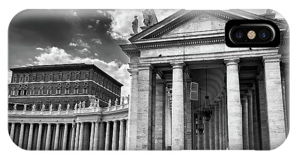 The Tuscan Colonnades In The Vatican IPhone Case