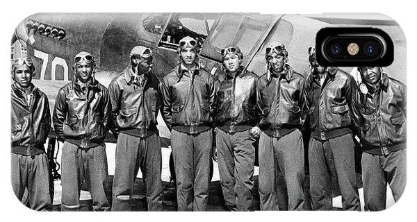 The Tuskegee Airmen Circa 1943 IPhone Case
