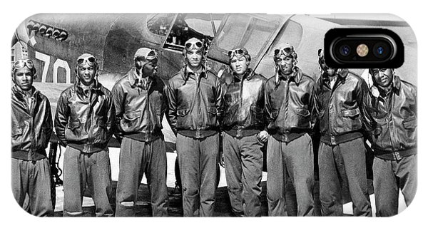 The Tuskegee Airmen Circa 1943 IPhone Case
