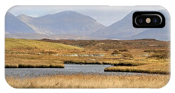 IPhone Case featuring the photograph The Twelve Bens Mountains Connemara Ireland by Pierre Leclerc Photography
