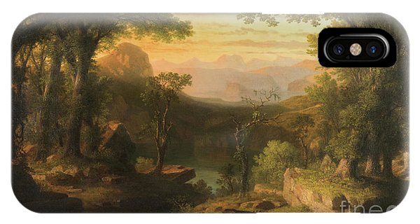 Awakening iPhone Case - The Twilight In The Wilderness by Thomas Pritchard Rossiter