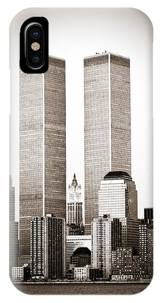 The Twin Towers IPhone Case