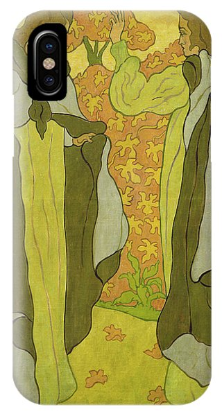 1895 iPhone Case - The Two Graces by Paul Ranson