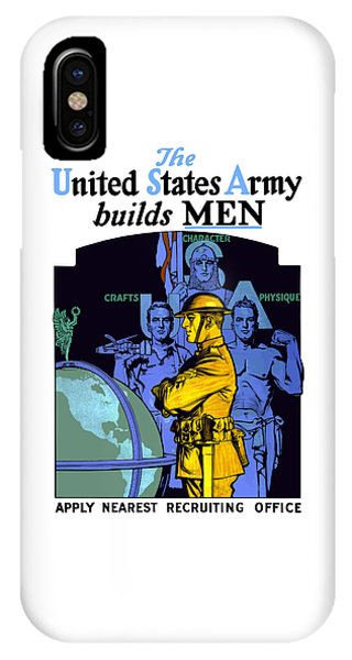 The United States Army Builds Men IPhone Case
