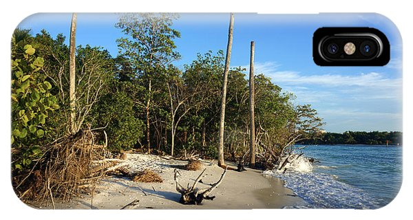 The Unspoiled Beauty Of Barefoot Beach In Naples - Landscape IPhone Case