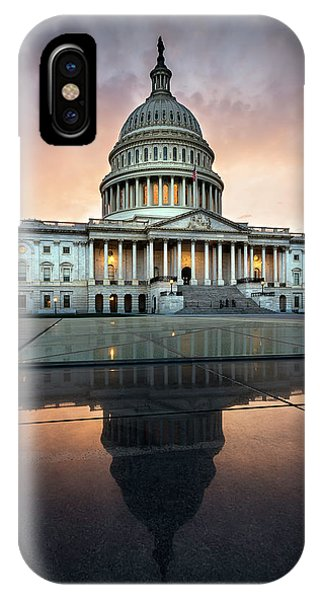 IPhone Case featuring the photograph The Us Capital by Ryan Wyckoff