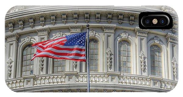 The Us Capitol Building - Washington D.c. IPhone Case
