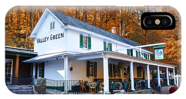 iPhone Case - The Valley Green Inn In Autumn by Bill Cannon