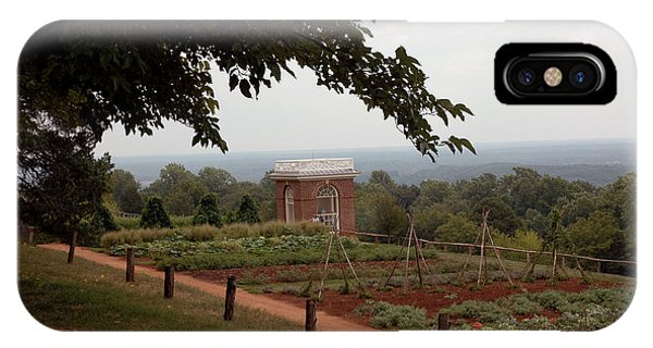 The Vegetable Garden At Monticello IPhone Case