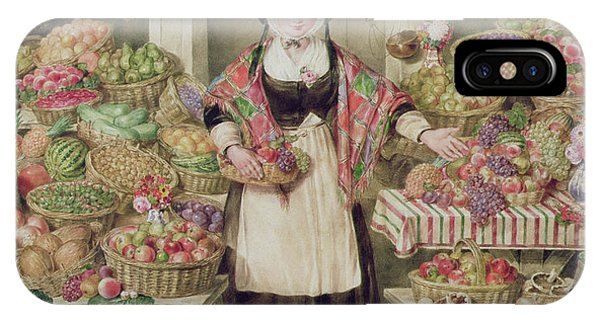 The Vegetable Stall  IPhone Case