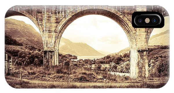 The Viaduct And The Loch IPhone Case