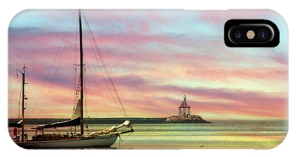 The View From Rocky Neck IPhone Case