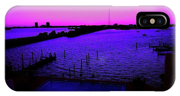 The Purple View  IPhone Case