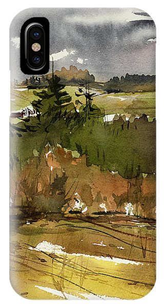 The View On Burlingame Road IPhone Case