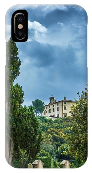 The Views From The Boboli Gardens IPhone Case