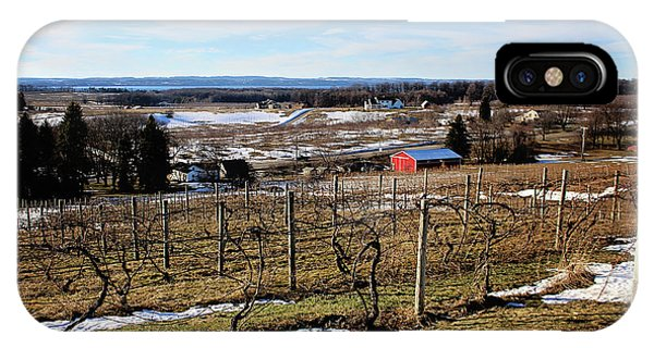 The Vineyard On Old Mission IPhone Case
