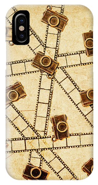 Cameras iPhone Case - The Vintage Photo Gallery by Jorgo Photography - Wall Art Gallery